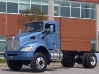 First all wheel drive Kenworth T270 and T370
