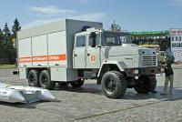 Special KrAZ truck for EMERCOM of Ukraine