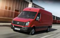 Refreshed Volkswagen Crafter 2012