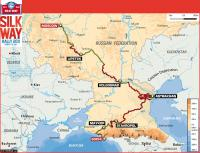 The Silk Way 2011 - result of the rally raid