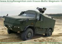 DSEi: KMW presented more powerful version of armor vehicle Dingo 2