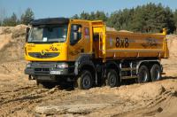 Renault Trucks has presented all-wheel drive chassis Kerax 8x8