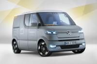 Electric delivery van Volkswagen eT! for the German Post Office
