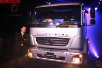 BharatBenz truck has been presented to journalists