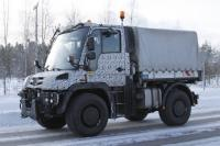 Mercedes-Benz prepares the new generation of Unimog by 2013