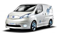IAA 2012: Nissan will start producing of electric vans e-NV200 in the spring 2013