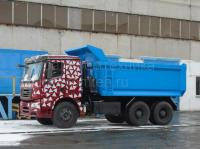 Ural continues developing a new range: here is a dump truck