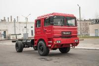KrAZ presented a new fire chassis 5401NE