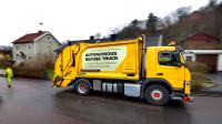 Volvo Trucks is testing the automated waste truck