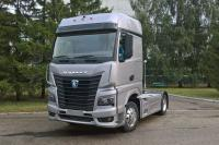 KAMAZ 54901: a prototype of the new tractor was presented in Moscow