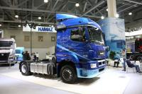 KAMAZ presents a prototype 54909 with a hydrostatic