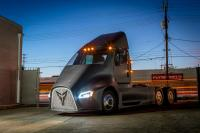 Californian start-up Thor Trucks announced a purely electric truck ET-One