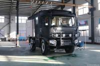 China made the first offroad camper based on a local chassis