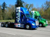 Kenworth showcased the T680 HECT prototype at the 2018 ACT Expo