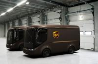 UPS and Arrival presents the new electric vans with 150 miles range