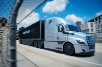 Electric Freightliner eCascadia will be a competitor to the Tesla's SEMI