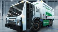Mack debuted electric-powered LR BEV refuse truck