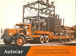 Autocar Extra Heavy Equipment