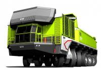 Design-concept of mining truck by ETF