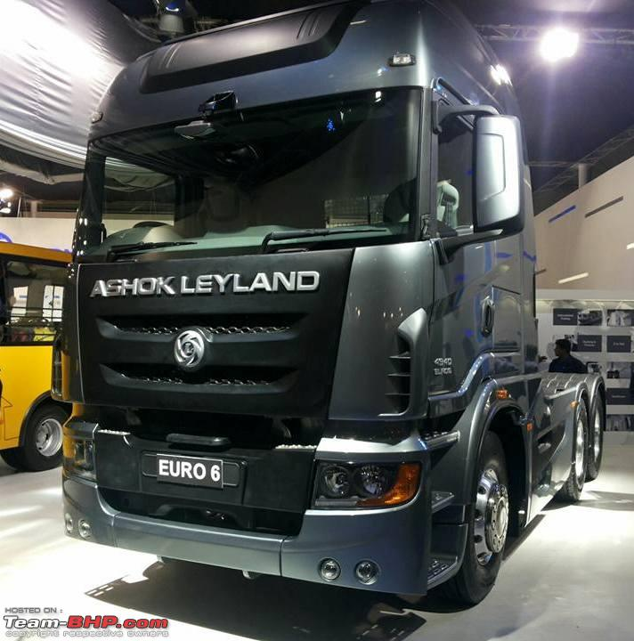Ashok Leyland Captain 4940 Euro 6 Concept Vehicles